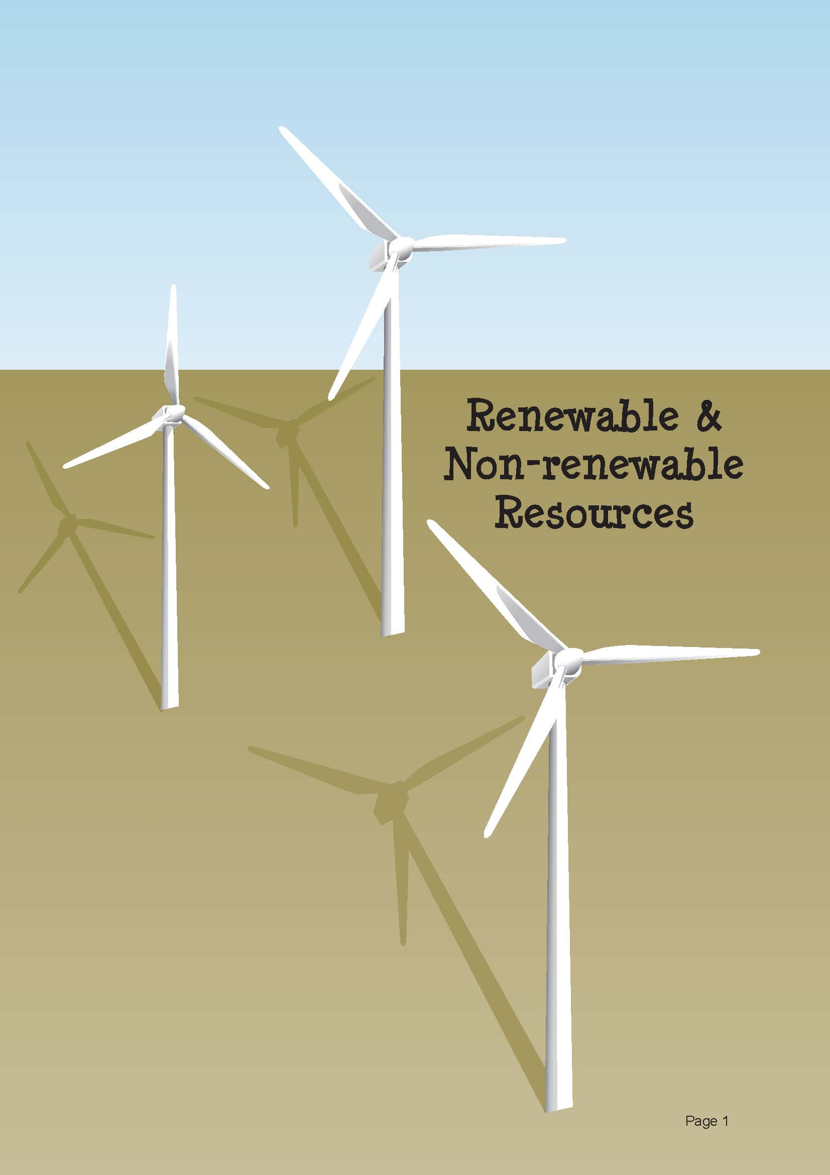 Renewable & Non-renewable Resources