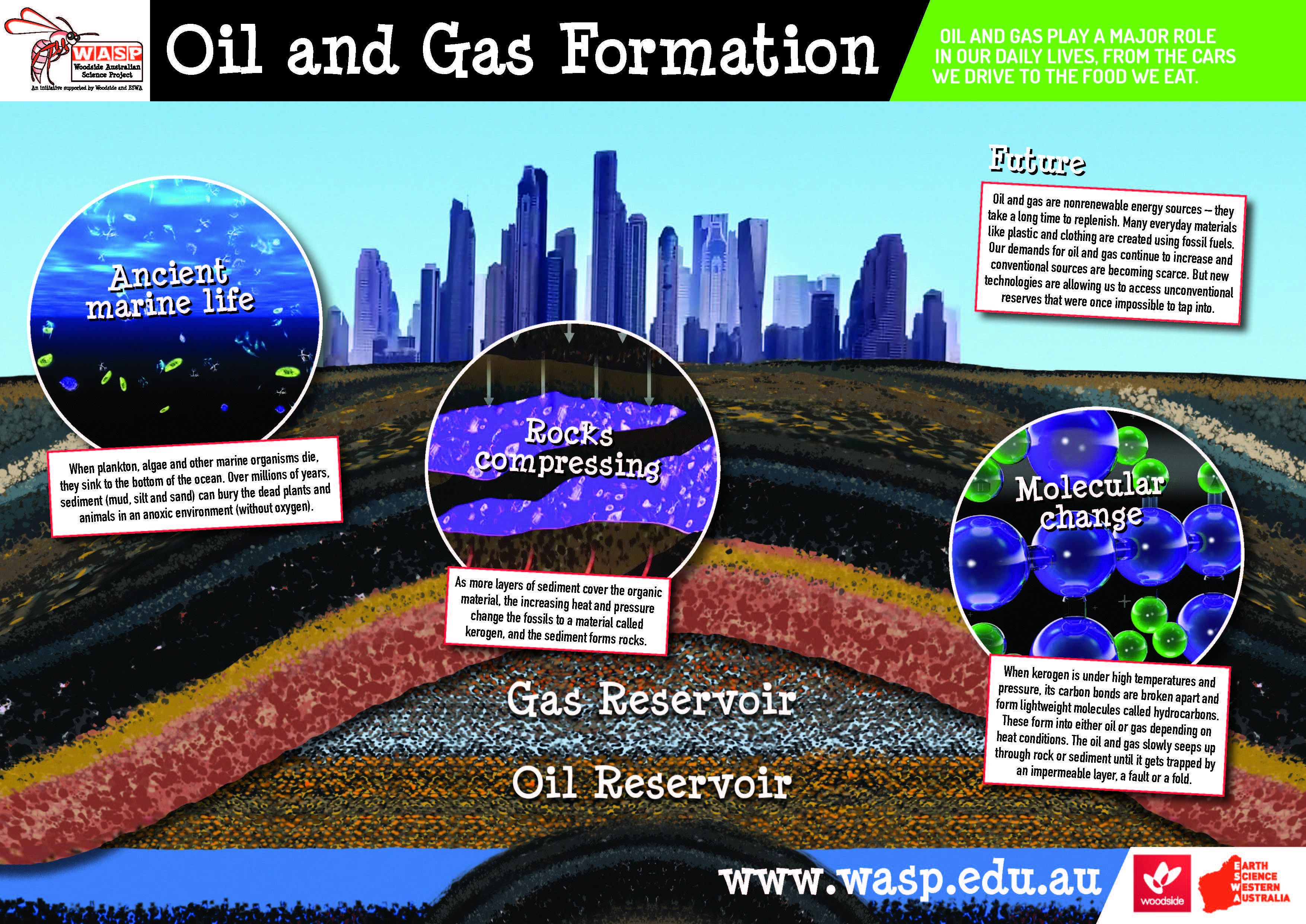 Oil and Gas Formation Poster